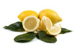 Het spelen met citroenen Royalty-vrije Stock Afbeeldingen