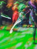 Het spelen met kleuren Stock Afbeeldingen