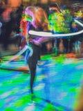 Het spelen met kleuren Stock Afbeelding