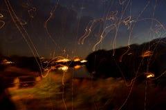 Het spelen met licht Stock Foto's