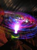 Het spelen met licht stuk speelgoed Royalty-vrije Stock Afbeelding