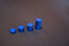 Het spelen met vormen Stock Fotografie