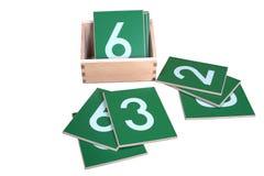 Het spelen met vormen Stock Foto's