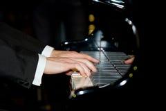 Het spelen piano Royalty-vrije Stock Afbeelding