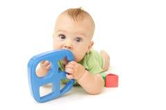 Het Spelen van de baby Stock Foto's