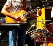 Het spelen van de gitaar Royalty-vrije Stock Fotografie