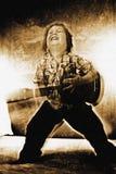 Het spelen van de gitaar Royalty-vrije Stock Foto's
