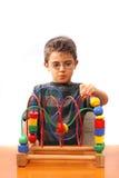 Het spelen van de jongen Royalty-vrije Stock Afbeelding