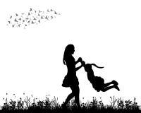 Het spelen van de moeder en van het kind Royalty-vrije Stock Foto