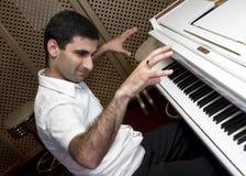 Het spelen van de piano Royalty-vrije Stock Fotografie