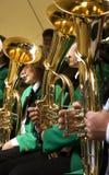 Het spelen van de tuba Royalty-vrije Stock Afbeelding