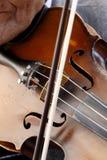Het spelen van de viool Stock Foto
