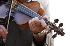 Het spelen van de viool Royalty-vrije Stock Foto