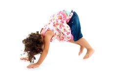 Het Spelen van het kind stock fotografie