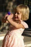 Het spelen van het kind Royalty-vrije Stock Foto's
