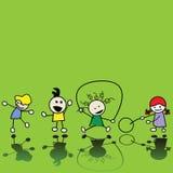 Het spelen van kinderen Stock Fotografie