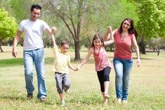 Het spelen van kinderen in heel stemming Royalty-vrije Stock Fotografie