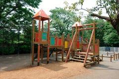 Het spelfaciliteiten van kinderen Stock Foto
