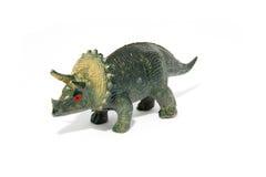 Het spelstuk speelgoed van de dinosaurus stock afbeelding