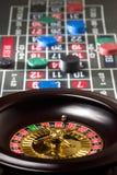 Het spinnen van de roulette Stock Foto's