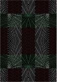 Het spinneweb herhaalt Patroon Stock Foto's
