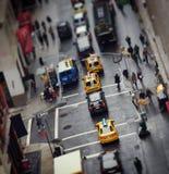 Het spitsuur van de Stad van New York Stock Foto