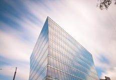 Het splijten van de wolken Stock Foto's