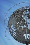 Het spoelende Park Unisphere van de Corona van Weiden stock afbeelding