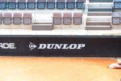 Het sponsoring van de Dunlopsport stock foto's