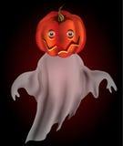 Het spook van de pompoen Vector Illustratie