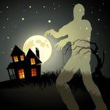 Het Spook van de zombie! royalty-vrije illustratie