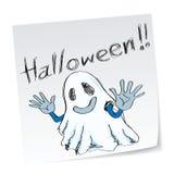 Het spook van Halloween Stock Afbeeldingen