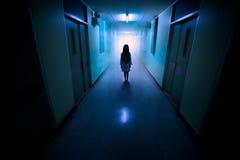 Het spook van kinderen Stock Foto's