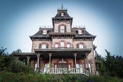 Het spookhuis Royalty-vrije Stock Foto's