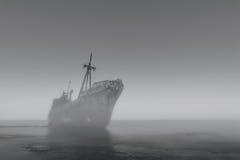 Het Spookschip Stock Foto's