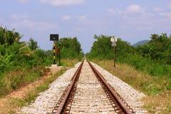 Het spoor Stock Afbeelding