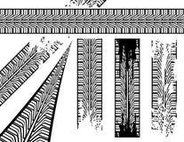 Het spoor van de band vector illustratie