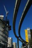 Het Spoor van de monorail stock foto's