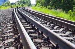 Het Spoor van de spoorweg royalty-vrije stock fotografie