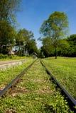 Het Spoor van de spoorweg Stock Fotografie