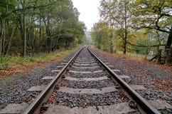 Het Spoor van de spoorweg (HDR) Stock Fotografie