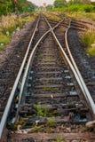 Het spoor van de spoorweg Royalty-vrije Stock Foto