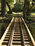 Het Spoor van de trein Stock Foto