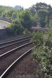 Het spoor van de trein Stock Fotografie
