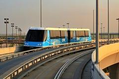 Het Spoor van de Trein van de luchthaven Stock Fotografie