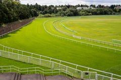 Het Spoor van paardenrennen Stock Foto