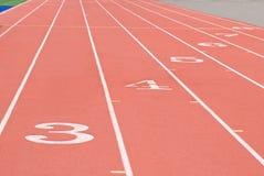 Het Spoor van sporten Royalty-vrije Stock Afbeelding