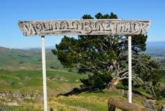 Het spoorteken van de bergfiets Royalty-vrije Stock Foto