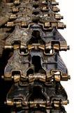 Het spoortractor van het metaal Royalty-vrije Stock Foto
