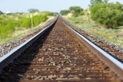 Het spoorweg van Texas Royalty-vrije Stock Foto's